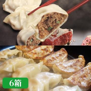 アップラインズ グルメ餃子専門店「包王」牛とんぽう 6箱セット