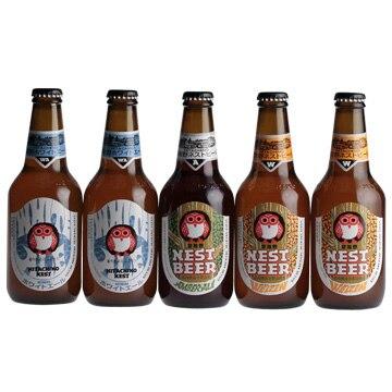 木内酒造 [茨城のクラフト]常陸野ネストビール 定番5本セット
