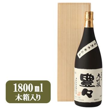 豊澤本店 大吟醸 豊々 木箱入り(1800ml)