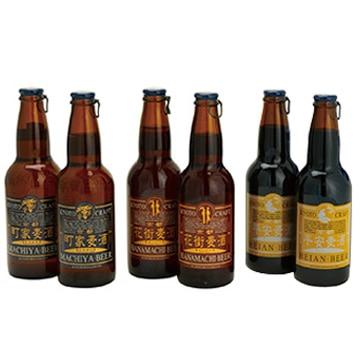 【送料無料 + ポイント20倍】[京都のクラフト]町家麦酒詰合せ【送料込み】