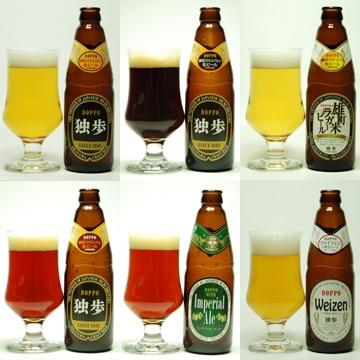 宮下酒造 [岡山/倉敷のクラフト]独歩ビール 本格派飲み比べ12本セット