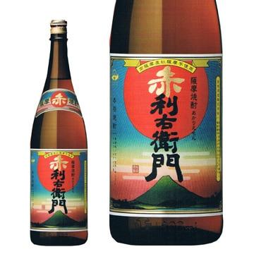 指宿酒造 [紅芋焼酎]『赤利右衛門』 25度 1800ml