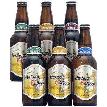 久米桜麦酒 [鳥取のクラフト]大山Gビール 4種6本セット