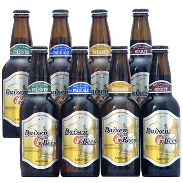 久米桜麦酒 [鳥取のクラフト]大山Gビール 4種8本セット