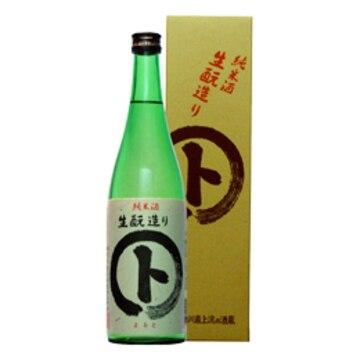 清酒 マルト 純米酒 生もと造り 箱入 720ml