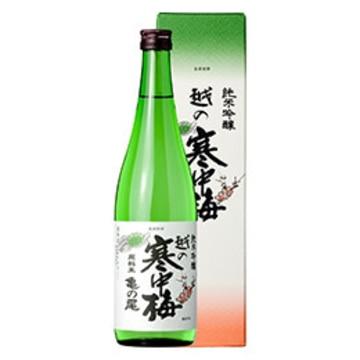 清酒 越の寒中梅 亀の尾 純米吟醸 720ml