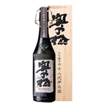 清酒 奥の松 大吟醸 雫酒 十八代伊兵衛 1800ml