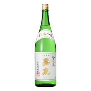 清酒 嘉泉 純米吟醸酒 1800ml