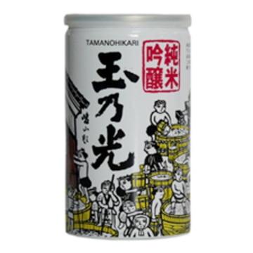 清酒 玉乃光 純米吟醸 アルミ缶 180ml