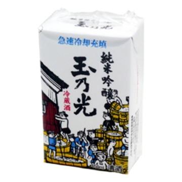清酒 玉乃光 純米吟醸 冷蔵酒パック(呑口付) 450ml