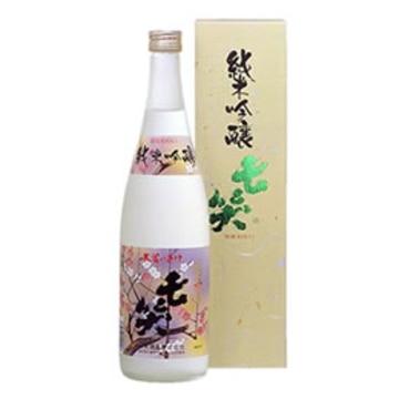 清酒 七笑 純米吟醸 720ml