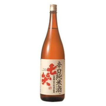 清酒 七笑 辛口純米酒 1800ml