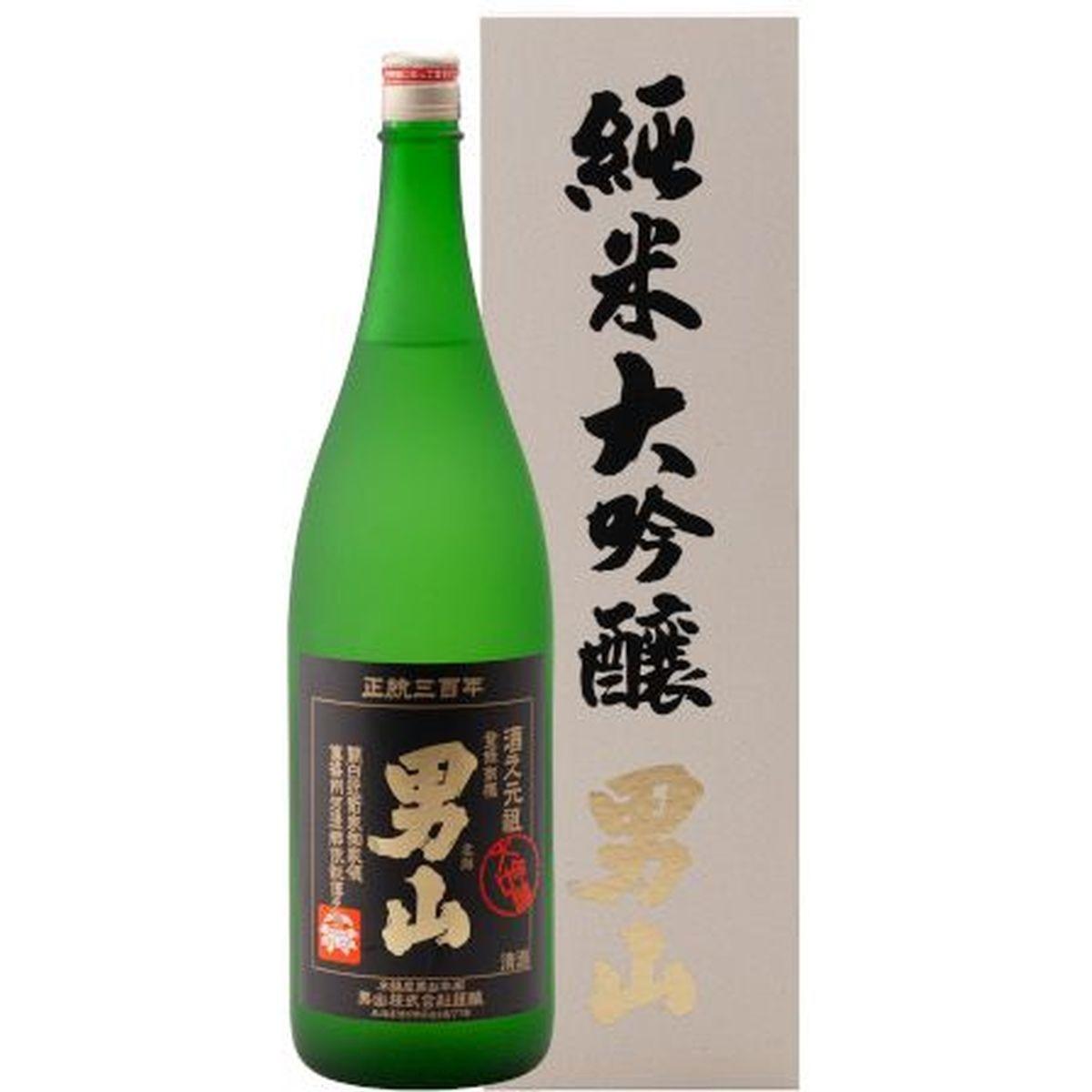 清酒 男山 純米大吟醸 1800ml