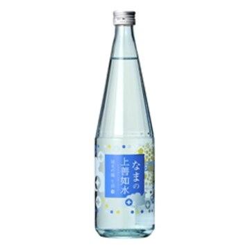 清酒 白瀧 なまの上善如水 純米吟醸 720ml