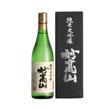 清酒 妙高山 純米大吟醸 (贈答箱入) 720ml