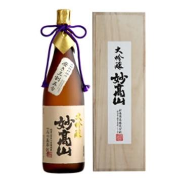 清酒 妙高山 大吟醸 三割五分(桐箱入) 1800ml