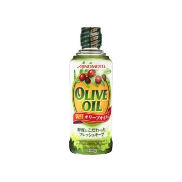 【送料無料】J-オイルミルズ 味の素 オリーブオイル 4.8kg(400g x 12個)