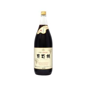 アルプス 葡萄棚 赤ワイン 1.8L x 6