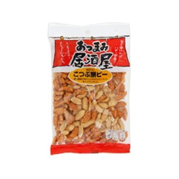 かつまた 日本橋菓房 おつまみ居酒屋 こつぶ餅ピーナッツ 80g x12