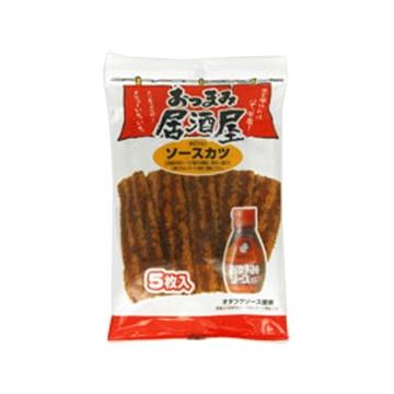 なるみ物産 日本橋菓房 おつまみ居酒屋 ソースカツ 5枚 x10