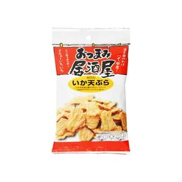 なるみ物産 日本橋菓房 おつまみ居酒屋 いか天ぷら 46g x10
