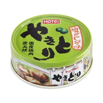 ホテイフーズコーポレーション ホテイ  やきとり  柚子こしょう味  缶詰  x  6