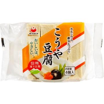 みすずコーポレーション みすず  こうや豆腐  4個  ポリ  66G  x  10