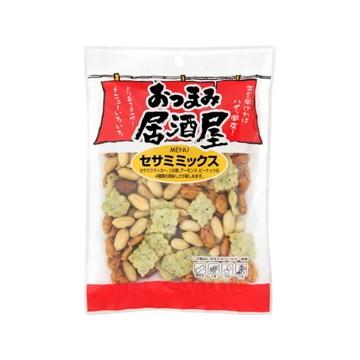 ミツヤ 日本橋菓房 おつまみ居酒屋 セサミミックス 60g x12