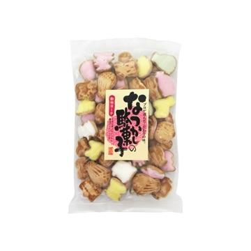 志村菓生堂 日本橋菓房 なつかしの駄菓子 動物ヨーチ 180g x10