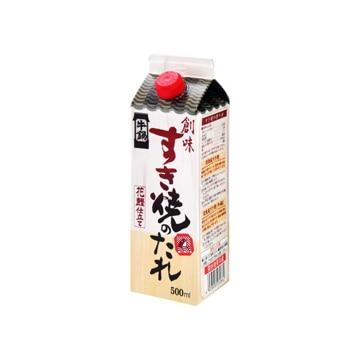 創味食品 すき焼きのたれ 500ml x6