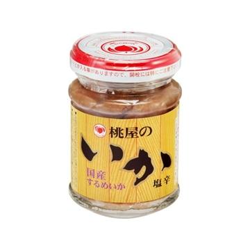桃屋 いかの塩辛  樽漬け  110g  x  12