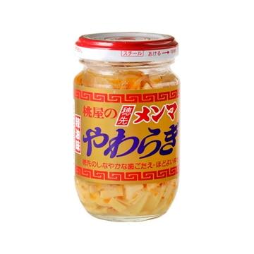 【送料無料】桃屋 穂先メンマ やわらぎラーユ味 115g x12