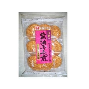 日新製菓 醤油ふくべ煎 9枚 x12