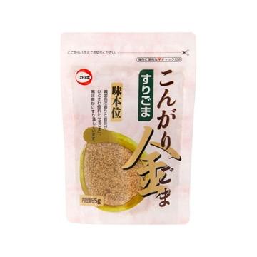 【送料無料】カタギ食品 カタギ こんがり金すりごま 65g x10