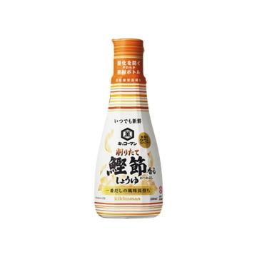 <ひかりTV>【送料無料】キッコーマン 削りたて鰹節香るしょうゆ 200g x12画像
