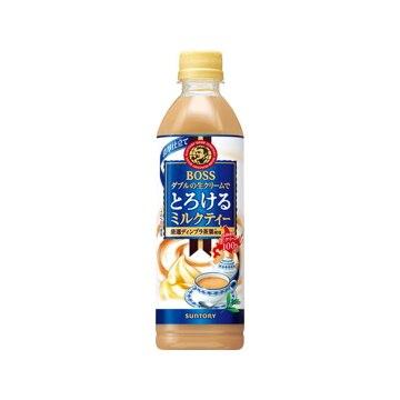 <ひかりTV>【送料無料】サントリー ボス とろけるミルクティー ペット 500ml x24画像