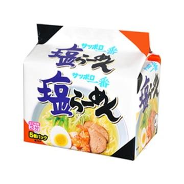 サンヨー食品 サッポロ一番 塩らーめん 5食 x 6