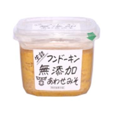 フンドーキン醤油 フンドーキン 生詰 無添加あわせみそ 850g x 6