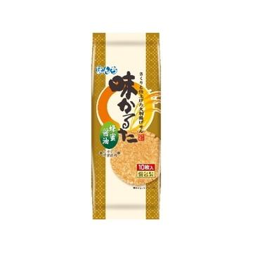 ぼんち 味かるた 蜂蜜醤油 10枚 x10