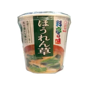 マルコメ 料亭の味 ほうれん草 カップ 1食 x 6