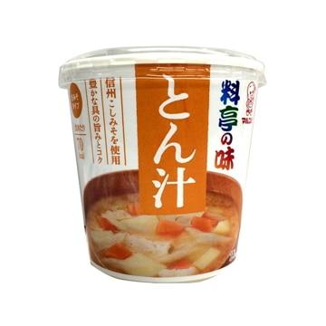 マルコメ 料亭の味 とん汁 カップ 1食 x 6