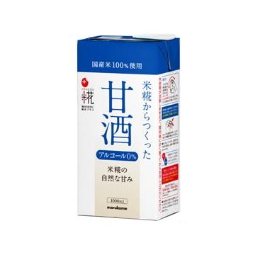 マルコメ プラス糀 米糀からつくった甘酒 LL 1L x 6