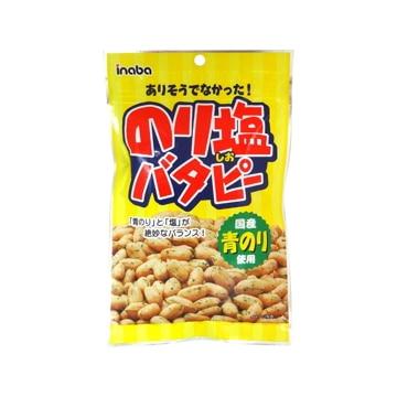稲葉ピーナツ 【12個入り】のり塩バタピー 125g x12