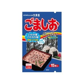 【送料無料】丸美屋食品工業 丸美屋 ごま塩 スティック 3gX15本 x10