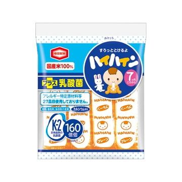 【送料無料】亀田製菓 ハイハイン 53g x12