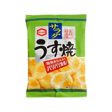 亀田製菓 サラダうす焼 28g x 10
