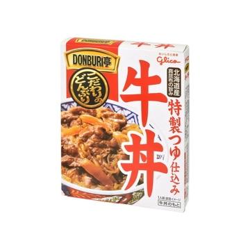 江崎グリコ グリコ  DONBURI亭  牛丼  160g  x  10