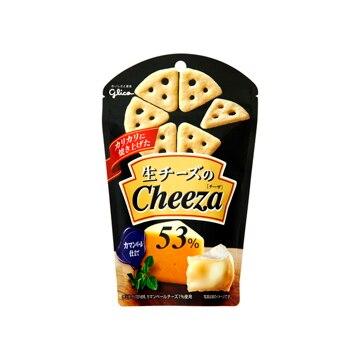 【送料無料】江崎グリコ グリコ 生チーズのチーザカマンベールチーズ仕立て 40g x10