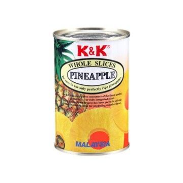 K&K マラヤパイン スライス(12X2) 4号缶 x12