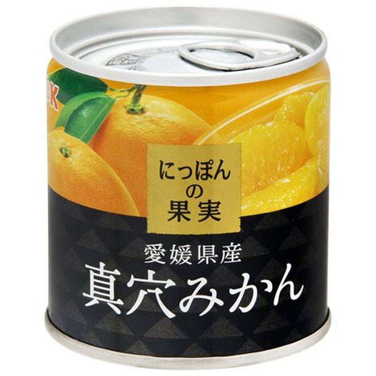 K&K にっぽんの果実 真穴みかん EO M2号缶 x6